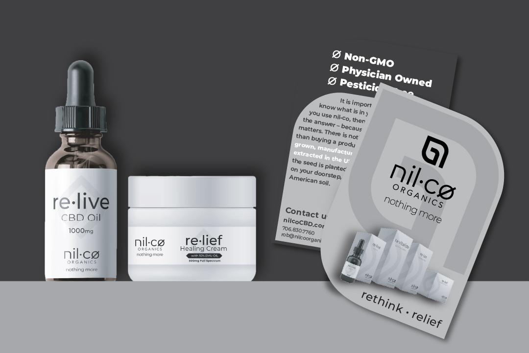 nilco organics product line